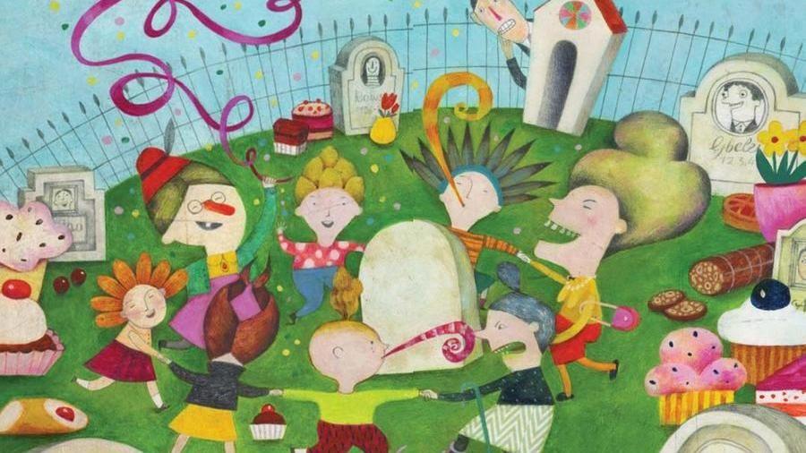 """Alessandra Cimatoribus: illustrazione di """"Tutti giù per aria"""""""
